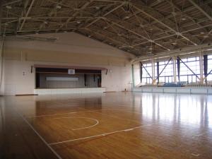 胆沢総合体育館 内観