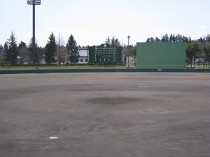 胆沢野球場